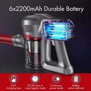 Batterie balai sans fil Hosome